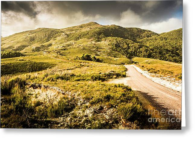 Amazing Mountains Landscape Greeting Card by Jorgo Photography - Wall Art Gallery
