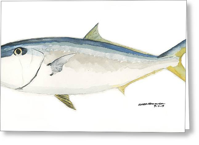Amberjack Greeting Card