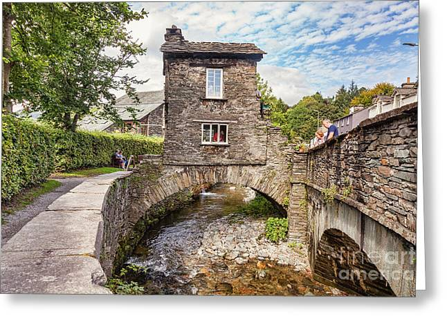 Ambleside Greeting Card by Colin and Linda McKie