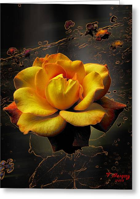 Ambrosia Greeting Card by Tony Marquez