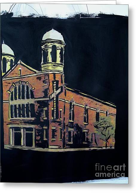 Ame St. James Church Greeting Card by Tyrone Hart