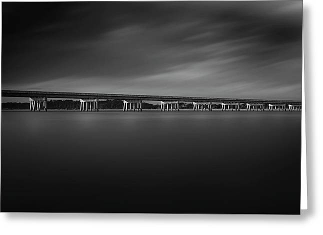 Greeting Card featuring the photograph Amelia Island by Peter Lakomy