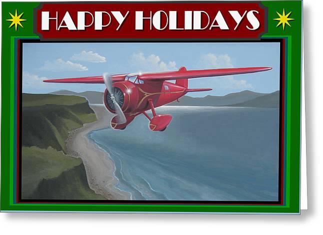 Amelia's Vega Christmas Card Greeting Card by Stuart Swartz