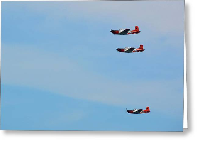 American Aviator Greeting Card by JAMART Photography
