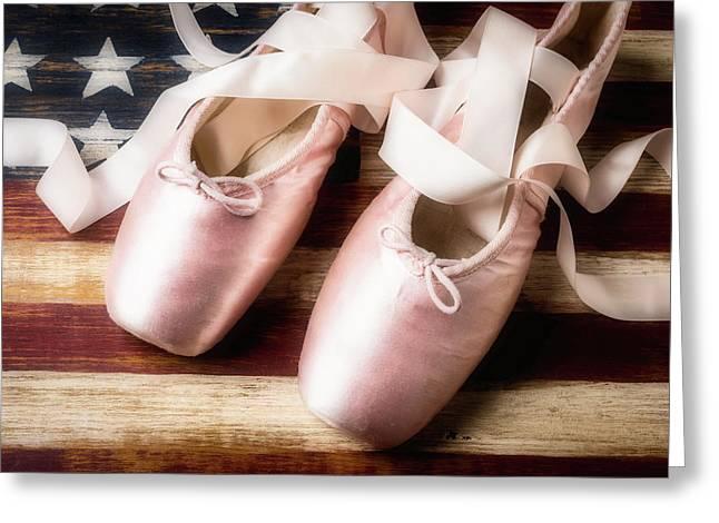 American Ballet Greeting Card