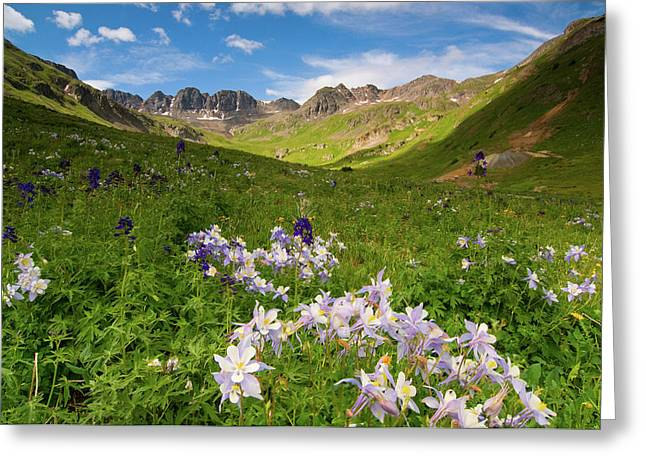 American Basin Greeting Card