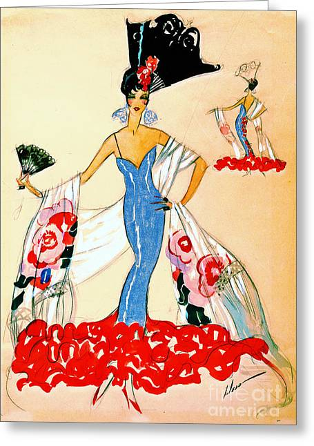 American Beauty 1920 Greeting Card