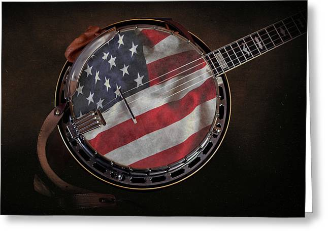 American Bluegrass Music Greeting Card