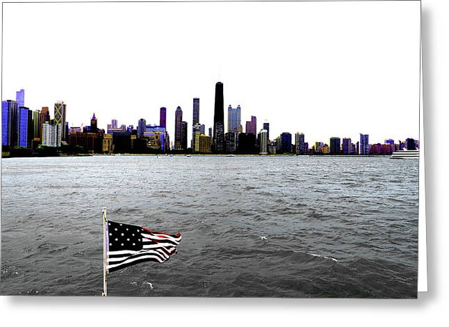 American Chi 3 Greeting Card