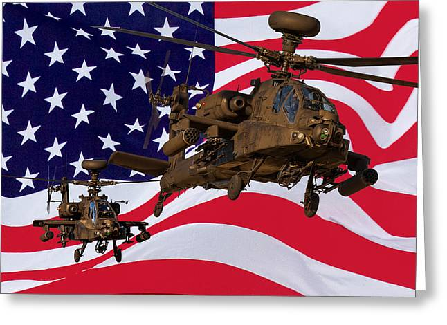 American Choppers Greeting Card by Ken Brannen