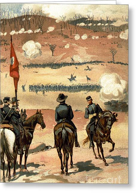 American Civil War, Chattanooga Greeting Card by Science Source