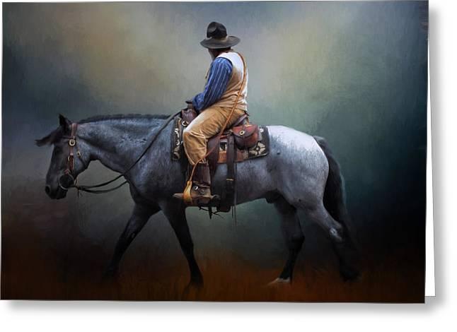 American Cowboy Greeting Card