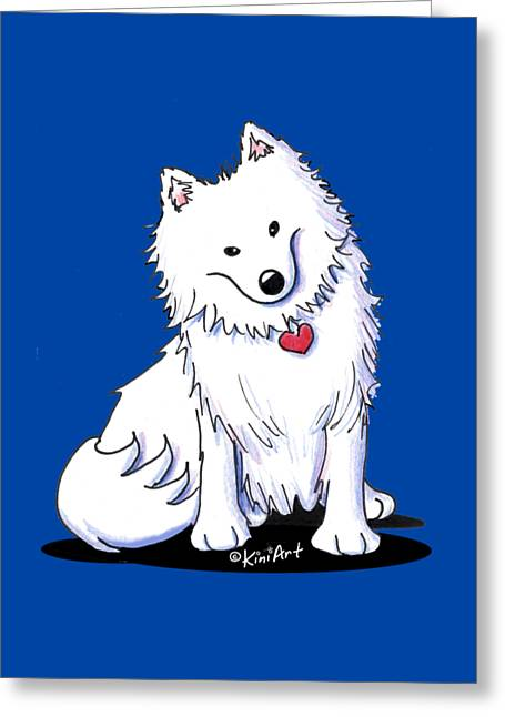 American Eski Greeting Card