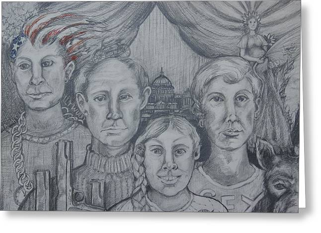 American Family? Greeting Card