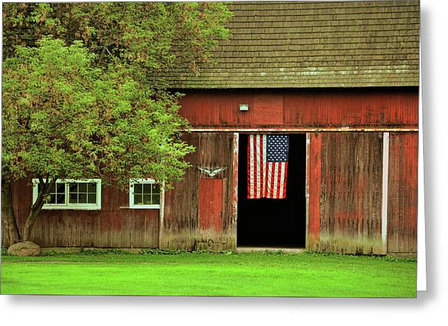 American Farm Greeting Card by JAMART Photography