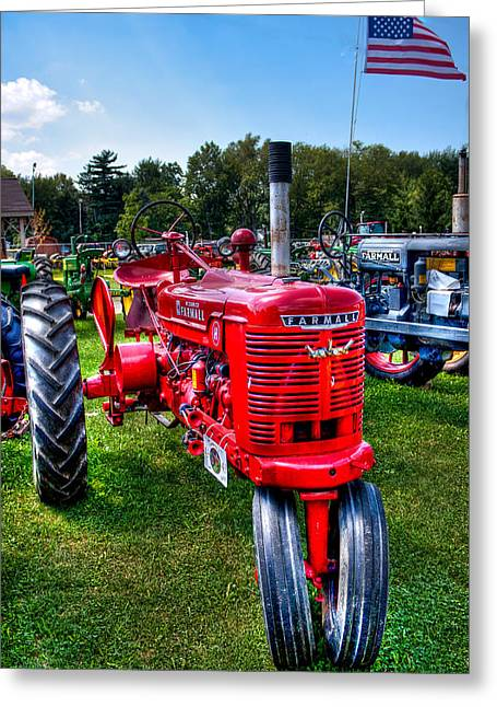 American Farmall Greeting Card