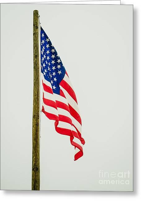 American Flag - A Greeting Card
