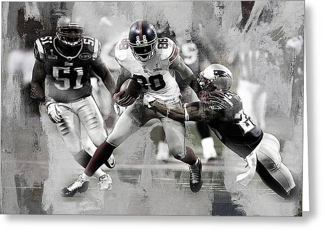 American Football 02a Greeting Card by Gull G