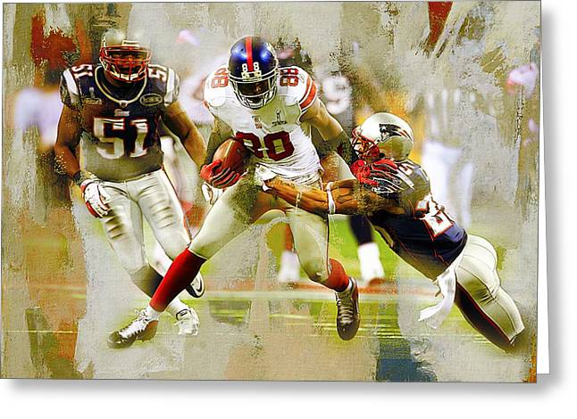 American Football 02b Greeting Card by Gull G
