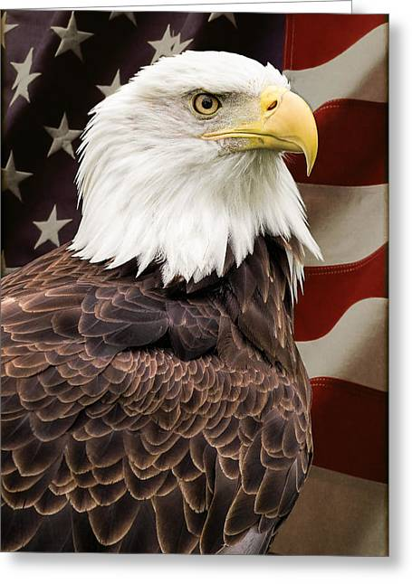 American Freedom Greeting Card