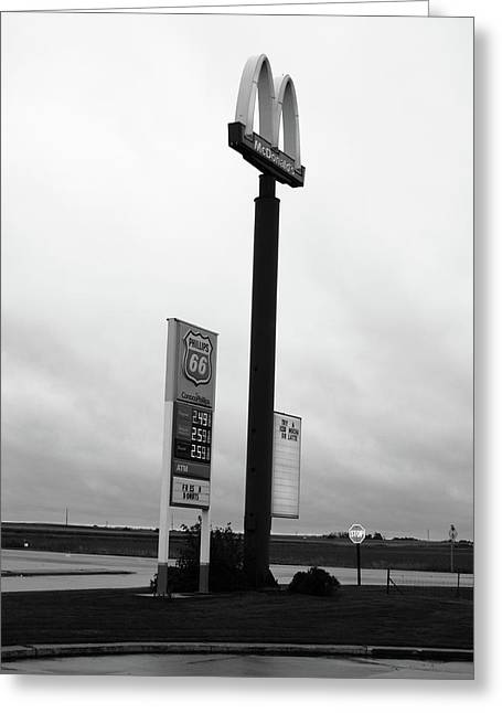 Greeting Card featuring the photograph American Interstate - Illinois I-55 by Frank Romeo