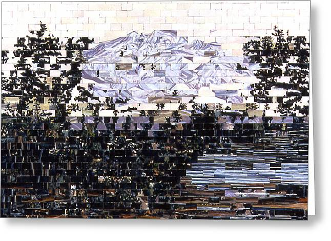American Landscape After Frances Greeting Card by Karl Frey