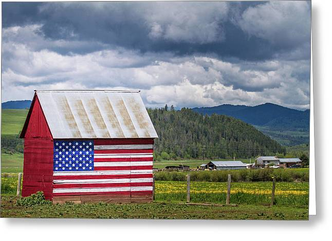 American Landscape Greeting Card