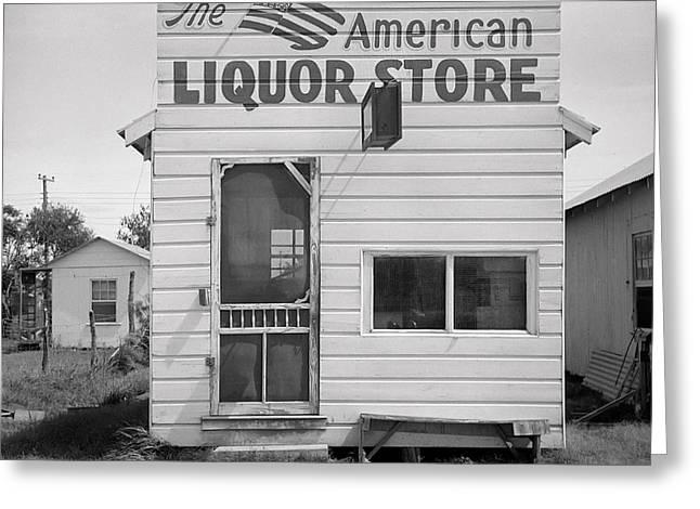 American Liquor - Texas 1943 Greeting Card