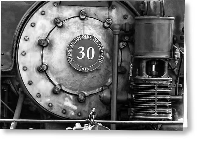 American Locomotive Company #30 Greeting Card