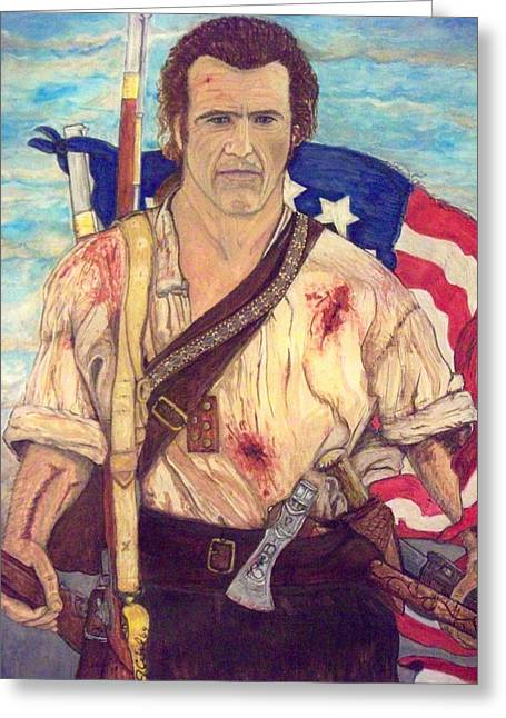 American Patriot Greeting Card by Jose Cabral