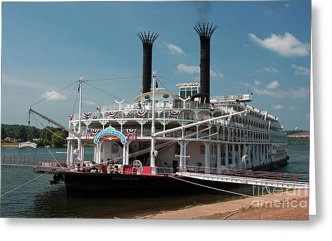 American Queen Greeting Card