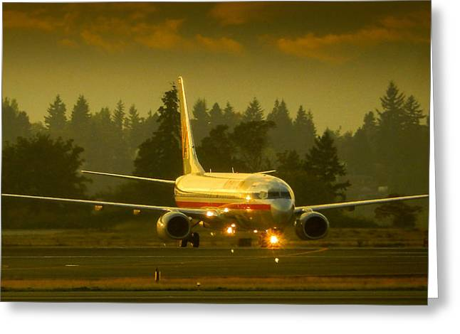 American Ready For Take-off Greeting Card