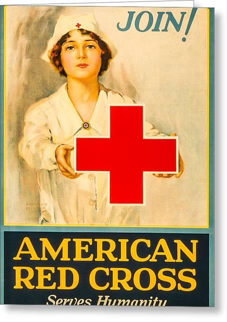 American Red Cross Nurse Greeting Card