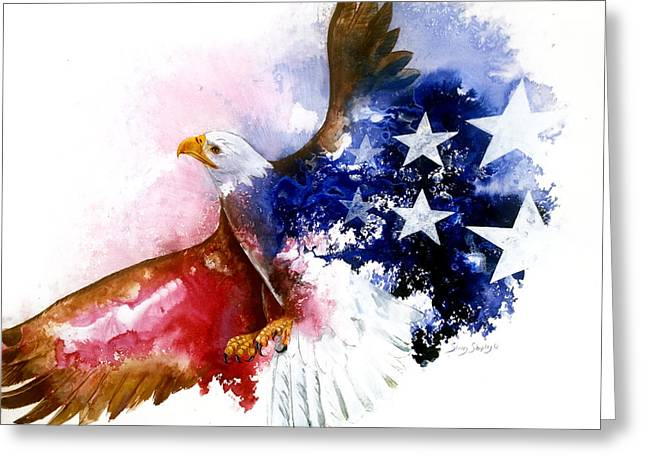 American Spirit Greeting Card