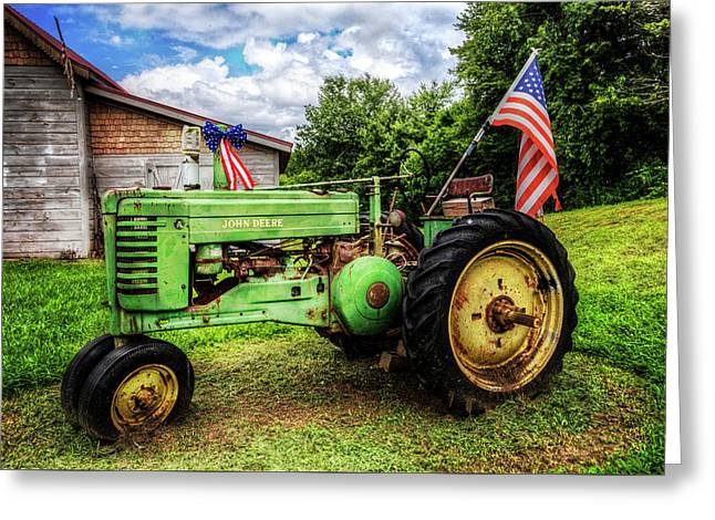 American Tractor Greeting Card