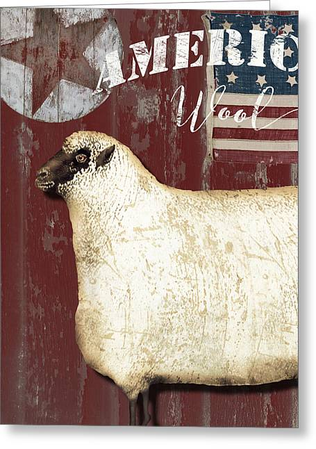 American Wool Greeting Card