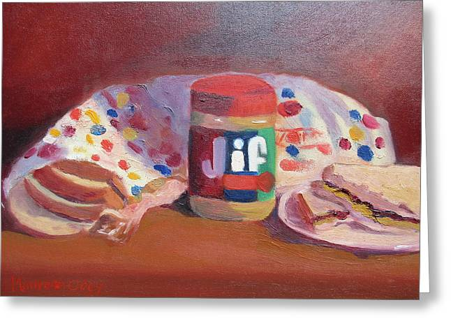 America's Favorite Sandwich Greeting Card by Maureen Obey