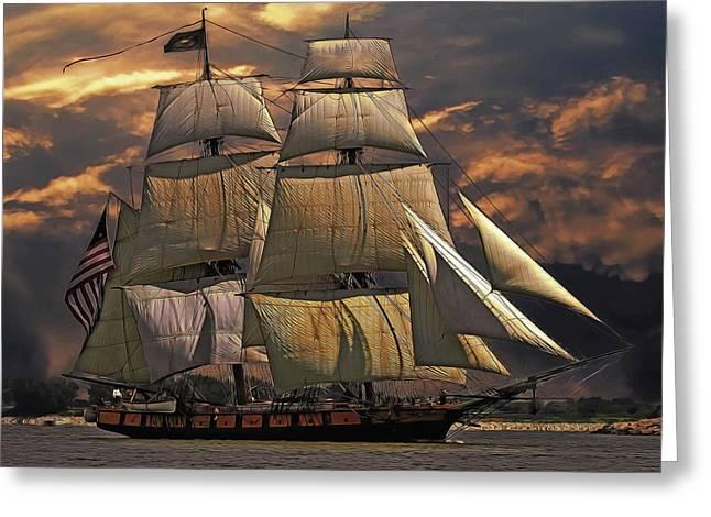 America's Ship Greeting Card