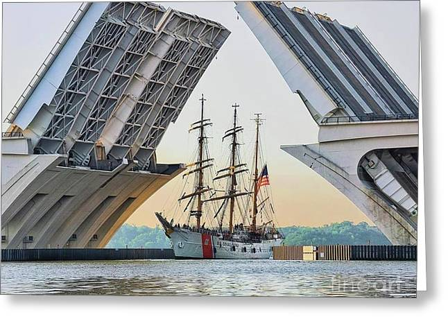 America's Tall Ship Greeting Card