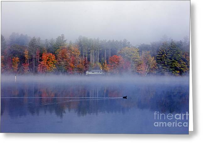 Amherst Lake Vt Greeting Card
