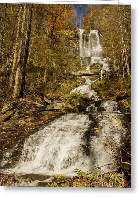 Amicola Falls Gushing Greeting Card