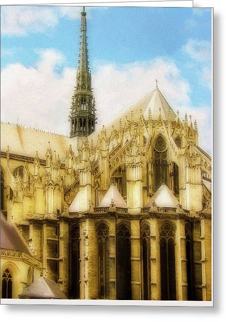 Amiens Cathedral Greeting Card