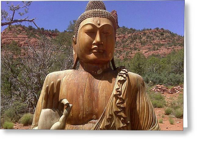 Amitabha Greeting Card