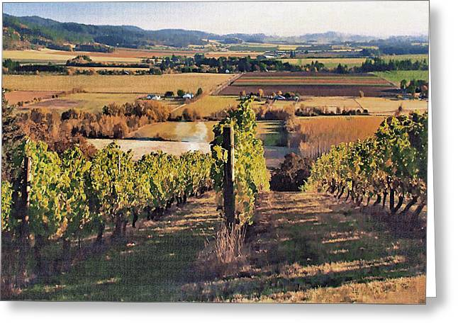 Amity Vineyard And Farmlands Greeting Card