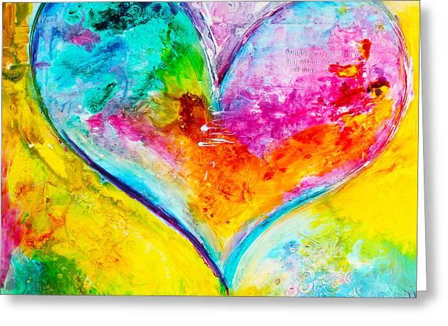 Amor Fiel Greeting Card by Ivan Guaderrama