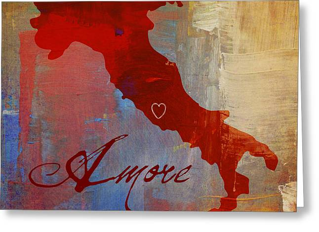 Amore Italia Greeting Card