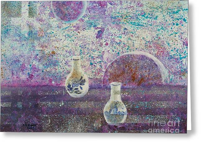 Amphora-through The Looking Glass Greeting Card