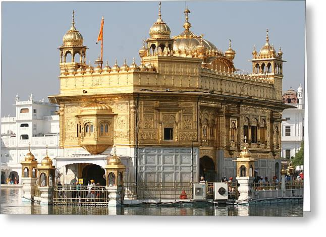 Amritsar Greeting Card