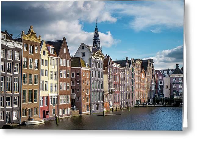 Amsterdam Buildings Greeting Card