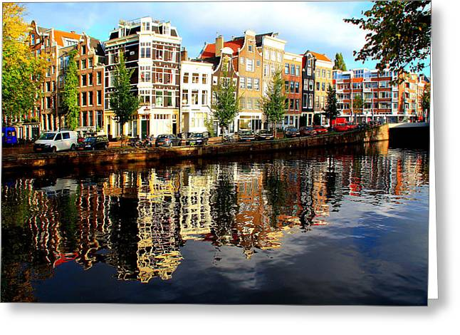 Amsterdam By Day Greeting Card